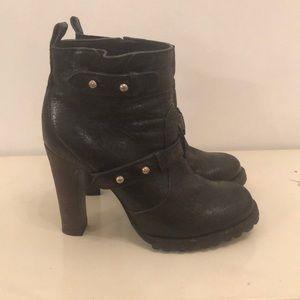 Tory Burch high heel Moto boots